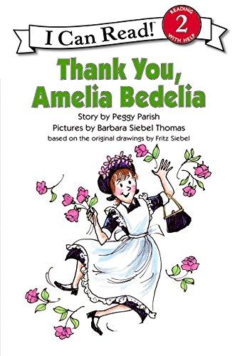 THANK YOU  AMELIA BEDELIA