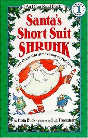 9780064442473: Santa's Short Suit Shrunk: And Other Christmas Tongue Twisters (I Can Read. Level 1)