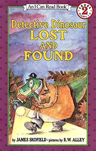 9780064442572: Detective Dinosaur Lost and Found (I Can Read Level 2)