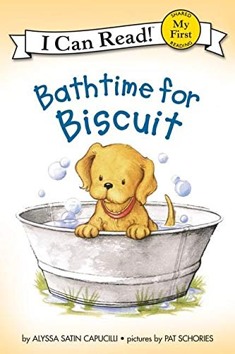 9780064442640: Bathtime for Biscuit (My First I Can Read Books)