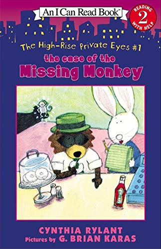 9780064443067: The High-Rise Private Eyes #1: The Case of the Missing Monkey (I Can Read Level 2)