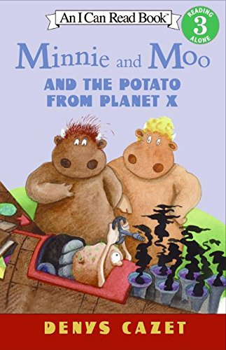 9780064443128: Minnie and Moo and the Potato from Planet X (I Can Read Book 3)