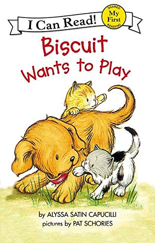 9780064443159: Biscuit Wants to Play (My First I Can Read - Level Pre1 (Quality))