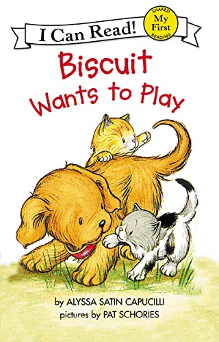 9780064443159: Biscuit Wants to Play (My First I Can Read)