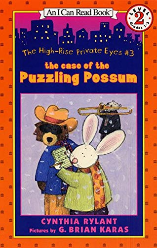 9780064443166: The High-Rise Private Eyes #3: The Case of the Puzzling Possum (I Can Read Level 2)