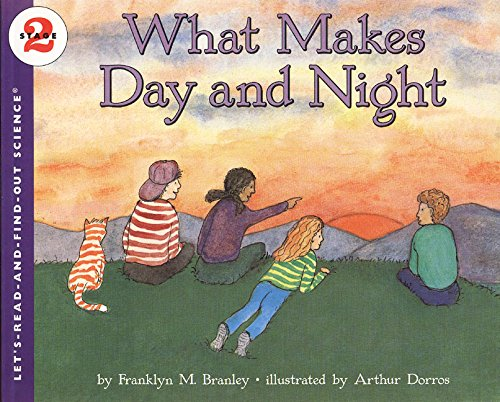 9780064450508: What Makes Day and Night (Let's-Read-and-Find-Out Science 2)