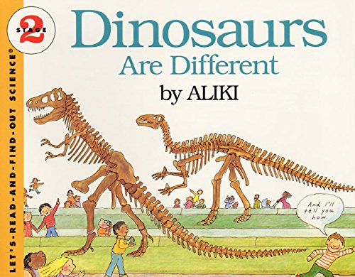 9780064450560: Dinosaurs Are Different (Let's-Read-And-Find-Out Science: Stage 2)