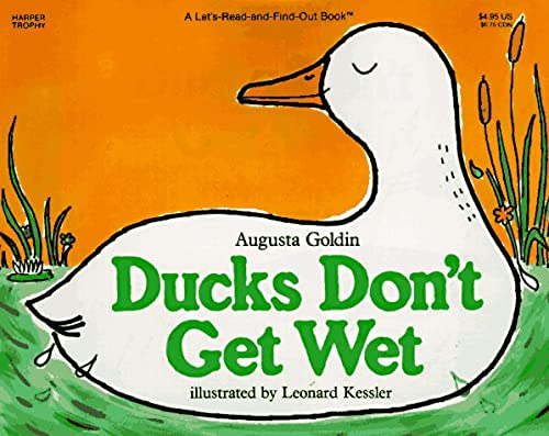 9780064450829: Ducks Don't Get Wet (Let's Read and Find Out Science Books)