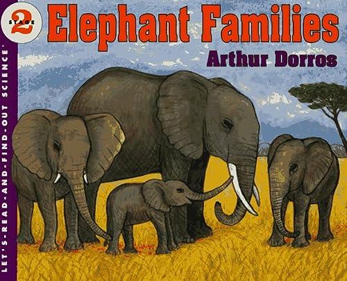 9780064451222: Elephant Families