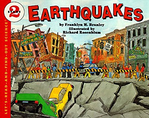 9780064451352: Earthquakes (Let's-Read-and-Find-Out Science)