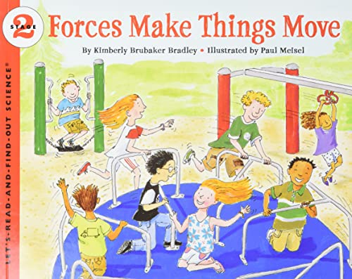 9780064452144: Forces Make Things Move (Let's Read And Find Out Science)