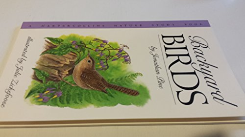 9780064461504: Backyard Birds (Harpercollins Nature Study Book)