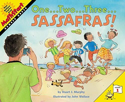 9780064462464: One...Two...Three...Sassafras! (MathStart 1)