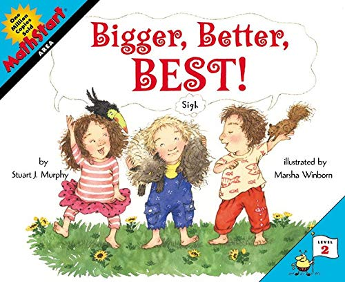 9780064462471: Bigger, Better, Best! (MathStart 2)