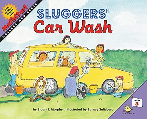 9780064462488: Sluggers' Car Wash (MathStart 3)