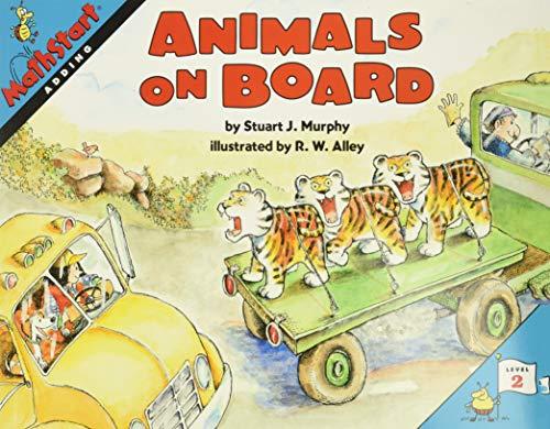 9780064467162: Animals on Board (MathStart 2)