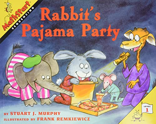 9780064467223: Rabbit's Pajama Party (MathStart 1)