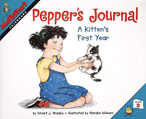 9780064467230: Pepper's Journal: A Kitten's First Year (MathStart 2)