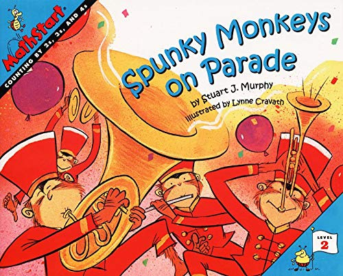 9780064467278: Spunkey Monkeys on Parade (MathStart)