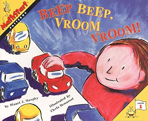 9780064467285: Beep Beep, Vroom Vroom! (Mathstart: Level 1 (HarperCollins Paperback))