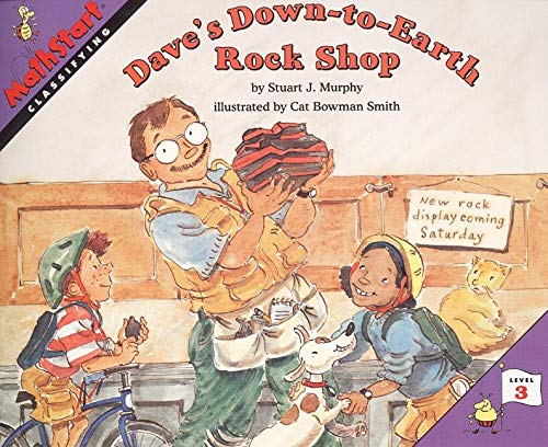 9780064467292: Dave's Down-to-Earth Rock Shop (MathStart 3)