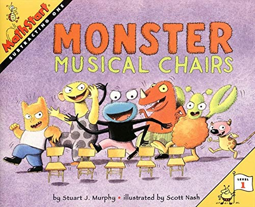 9780064467308: Monster Musical Chairs (MathStart: Subtracting One)