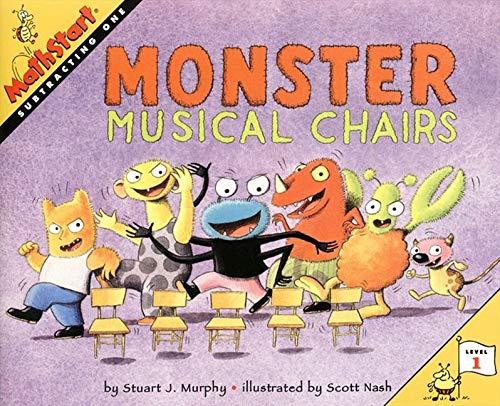 9780064467308: Monster Musical Chairs (MathStart 1)