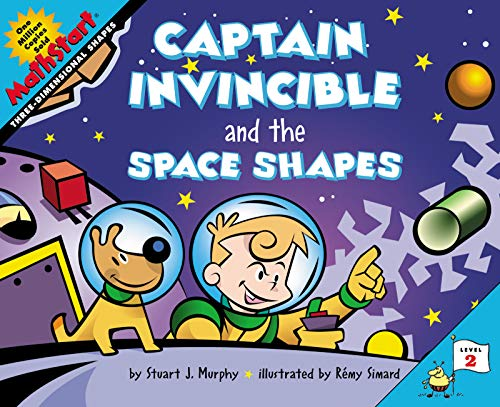 9780064467315: Captain Invincible and the Space Shapes (MathStart 2)