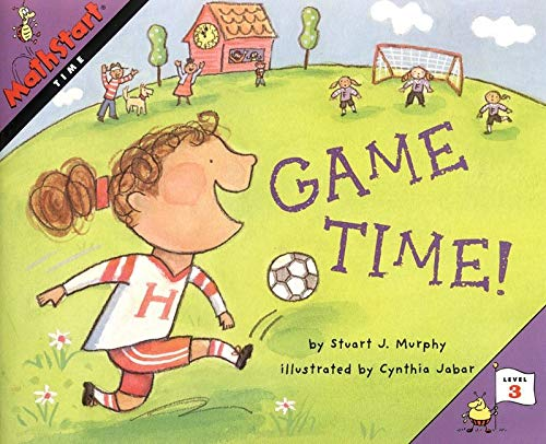 9780064467322: Great Source Mathstart: Student Reader Game Time! (MathStart 3)