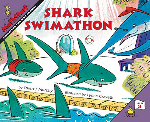 9780064467353: Shark Swimathon (MathStart 3)