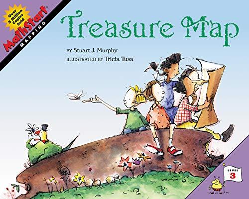 9780064467384: Mathstart Treasure Map (Mathstart: Level 3 (HarperCollins Paperback))