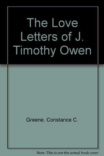 9780064470261: The Love Letters of J. Timothy Owen