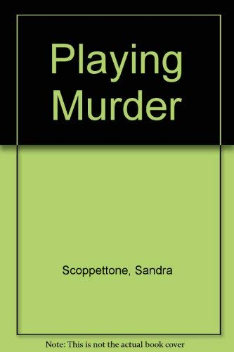 9780064470469: Playing Murder