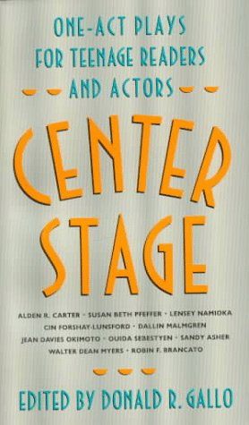 9780064470780: Center Stage: One-Act Plays for Teenage Readers