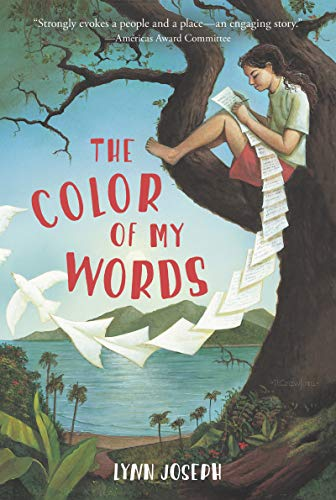 9780064472043: The Color of My Words