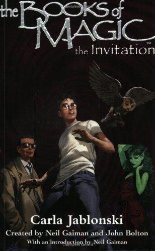 9780064473798: The Books of Magic #1: The Invitation (Books of Magic (EOS))