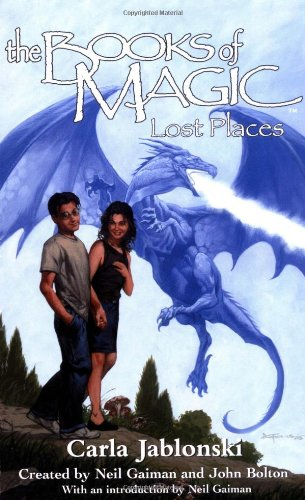 9780064473835: The Books of Magic #5: Lost Places (Books of Magic (EOS))
