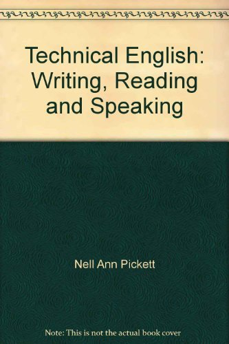 9780064539036: Technical English: Writing, Reading and Speaking