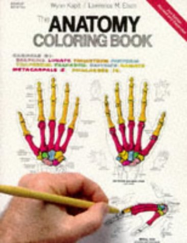 9780064550161: The Anatomy Coloring Book