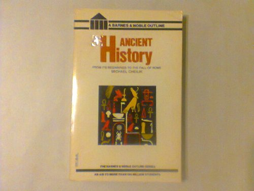 9780064600019: Ancient History (College Outline)