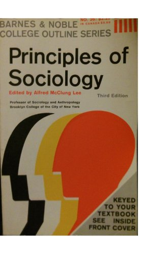 9780064600262: Principles of Sociology (College Outline)