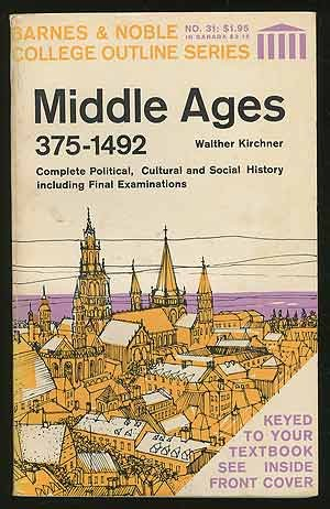 9780064600316: Middle Ages, 375-1492 (College Outline)