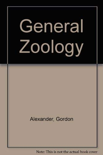 9780064600323: General Zoology (College Outline)