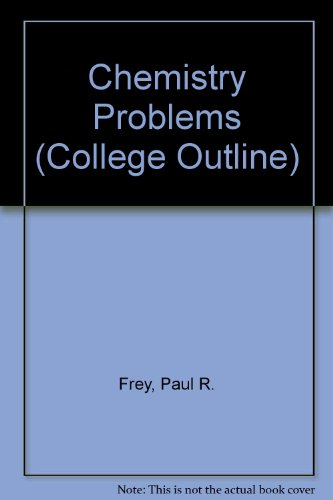 9780064600460: Chemistry Problems (Coll. Outline S)