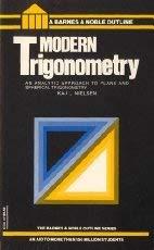 9780064600477: Modern Trigonometry (College Outline)