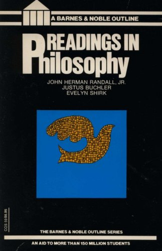 9780064600590: Readings in Philosophy