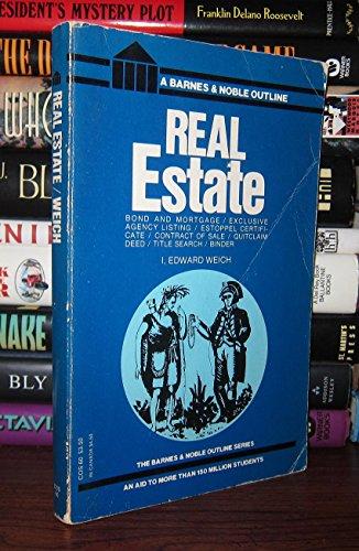 9780064600606: Real Estate (College Outline)
