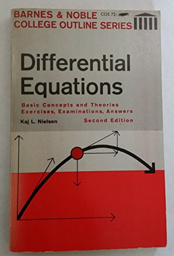 9780064600729: Differential Equations (College Outline)