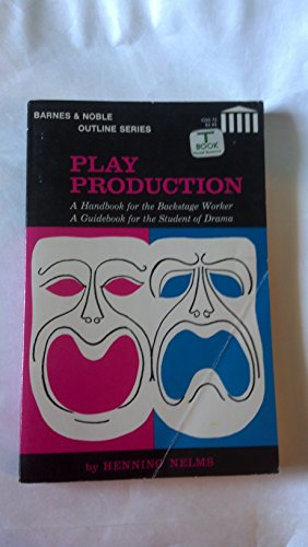 9780064600736: Play Production (College Outline)