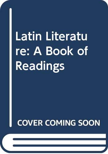 9780064600804: Latin Literature: A Book of Readings (Barnes & Noble outline series ; 80)